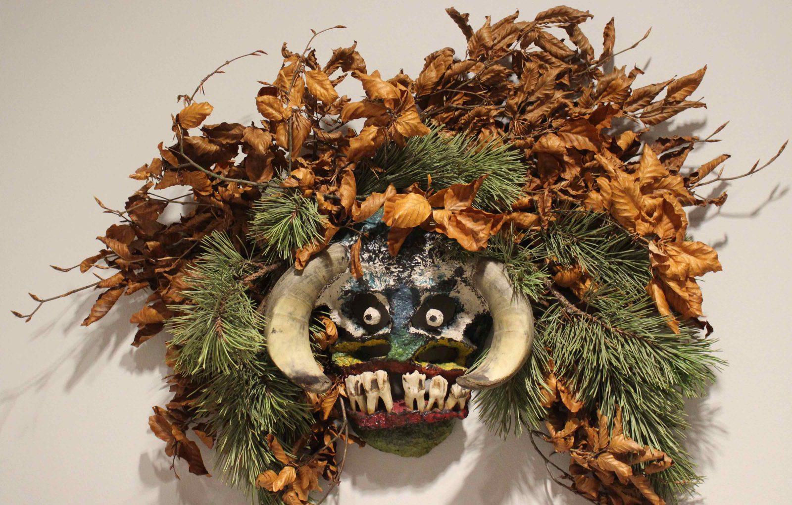 Château de Gruyères Le temps de Noël en Appenzell masques