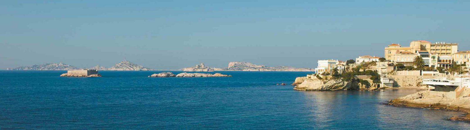 Marseille vue sur les îles