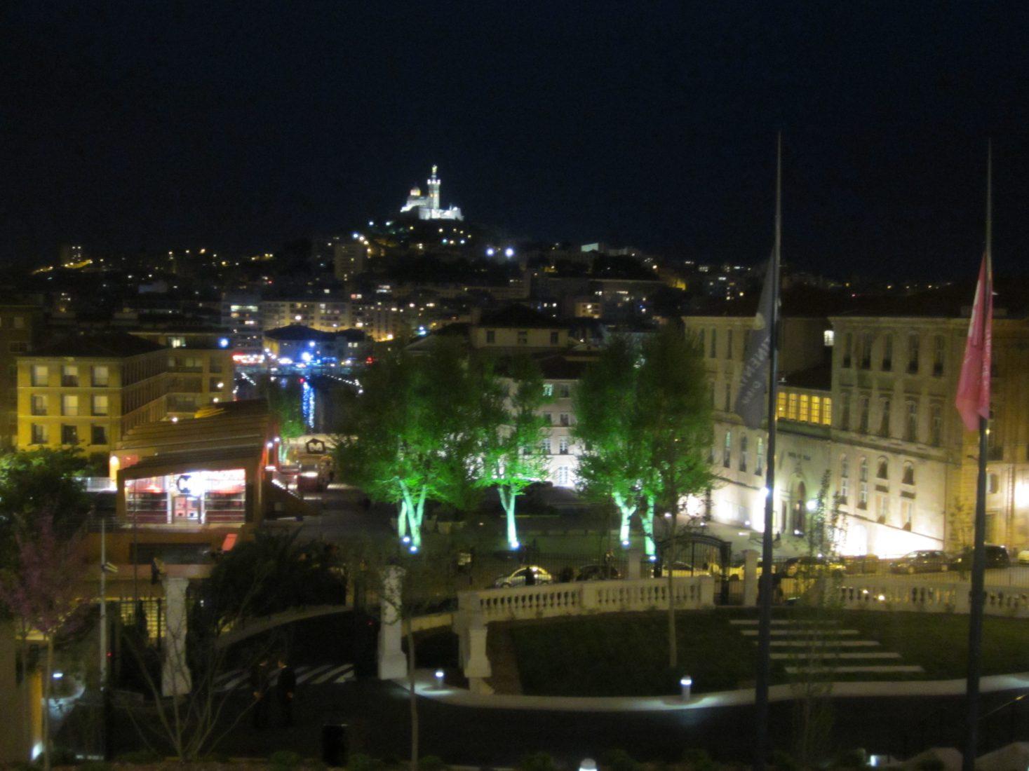 Marseille vue depuis 'Hôtel-Dieu
