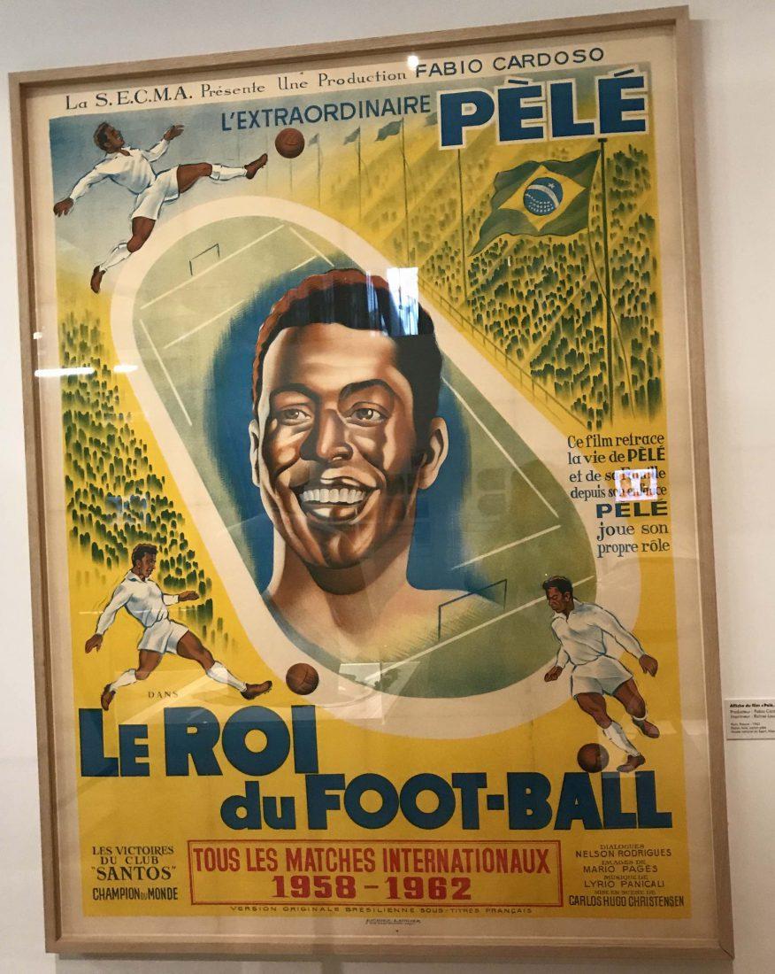 Marseille Mucem - Nous sommes Foot ! Affiche Pelé