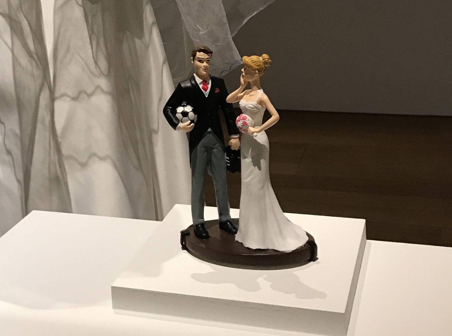 Marseille Mucem - Nous sommes Foot ! Mariés avec ballon