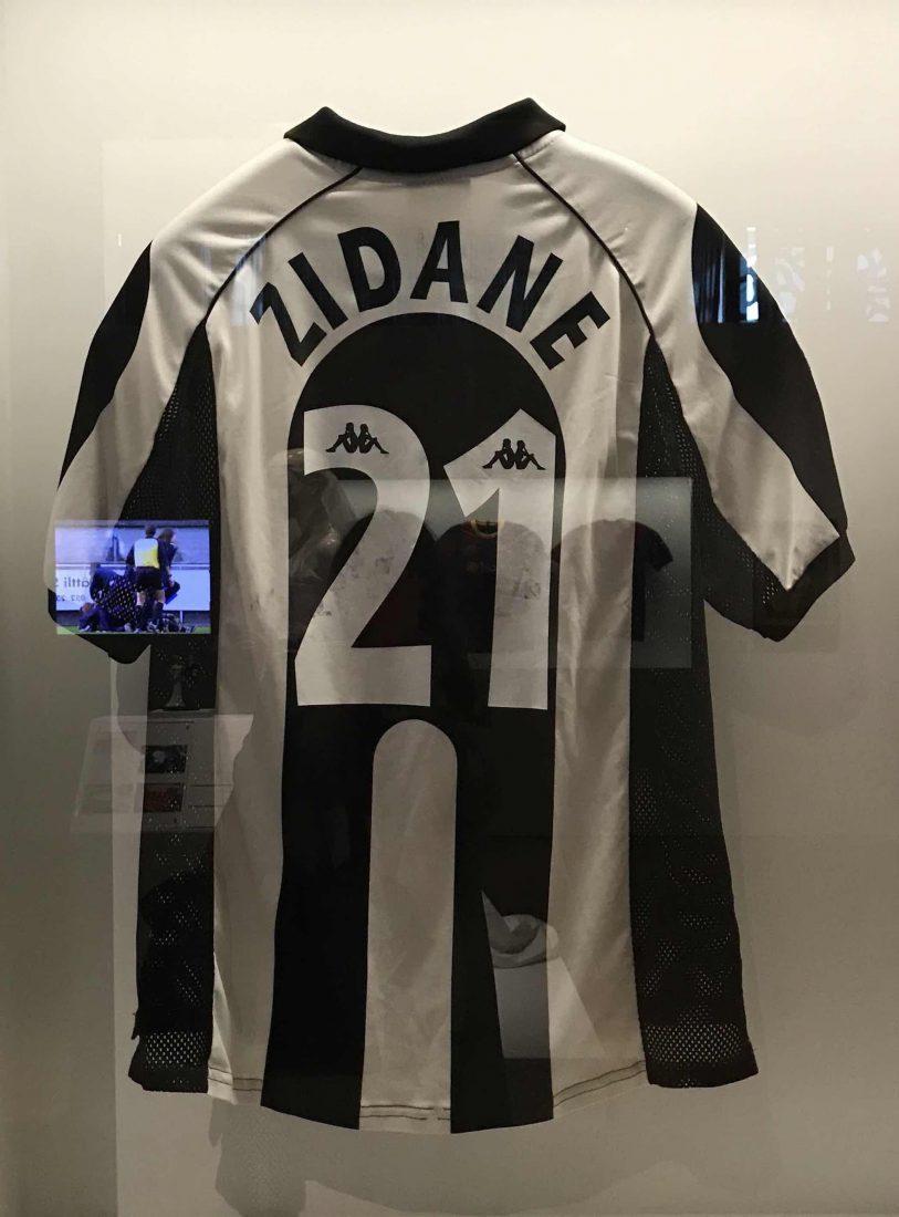 Marseille Mucem - Nous sommes Foot ! Maillot Zidane