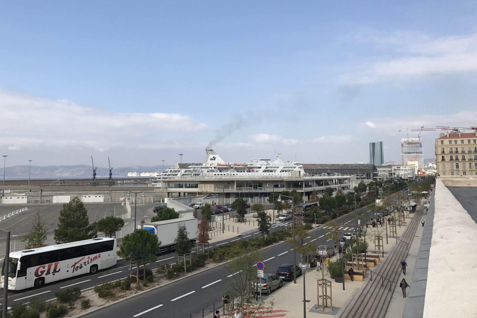 Marseille le Port de la joliette