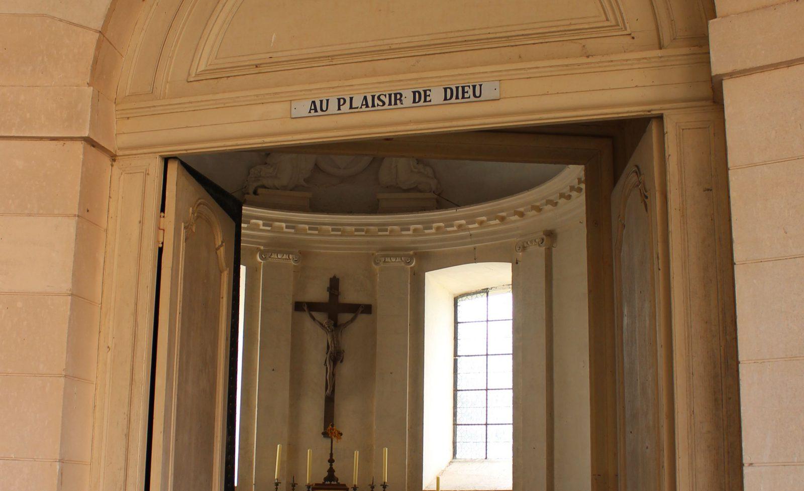 Saint-Fargeauchapelle du château et devise