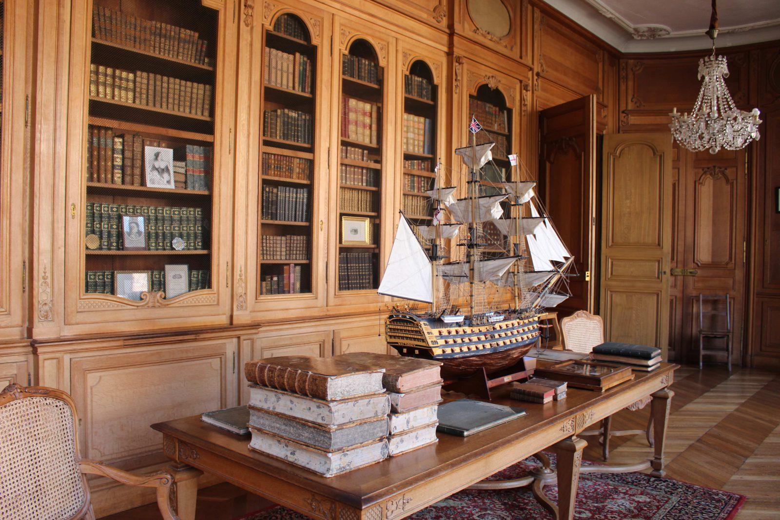 Château de Saint-Fargeau bibliothèque
