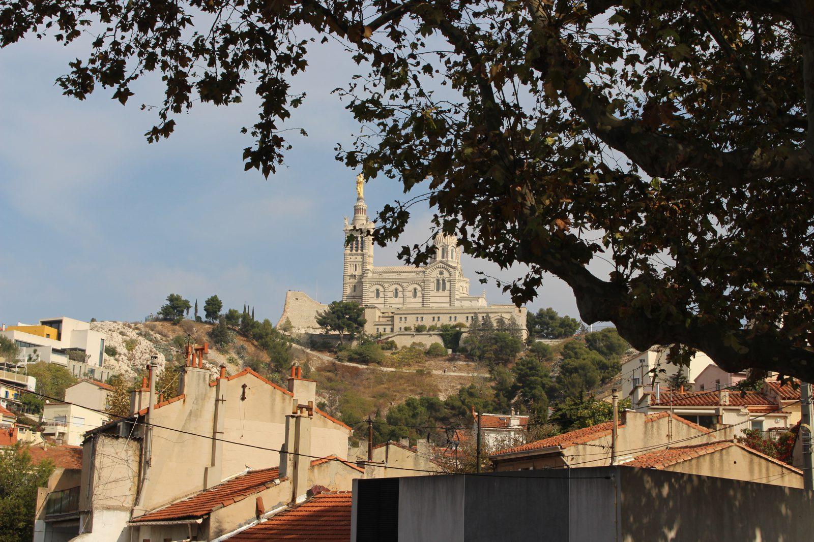 Marseille montée vers La Bonne Mère