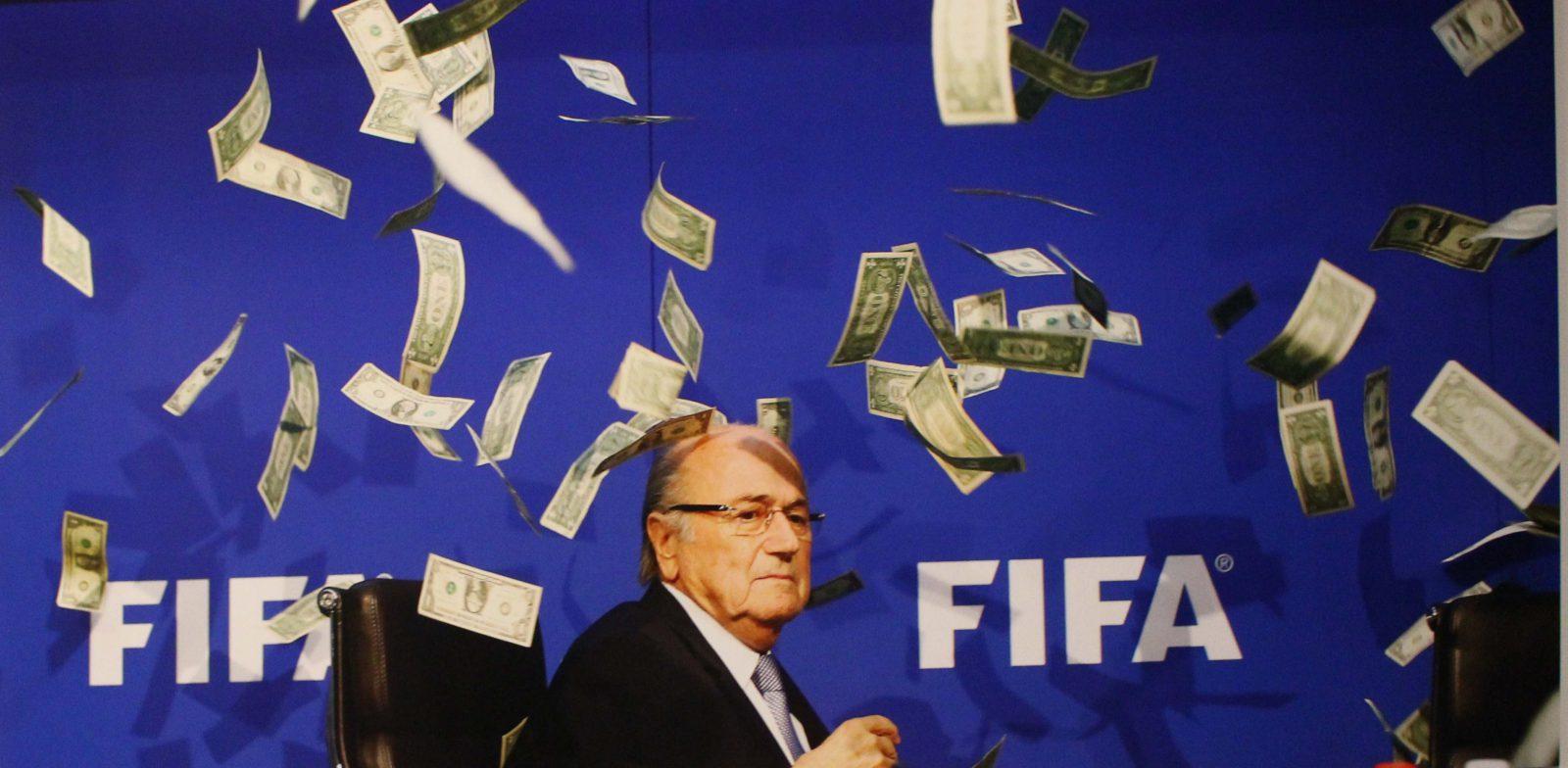 Marseille Mucem - Nous sommes Foot ! scandale à la FIFA Sepp Blatter