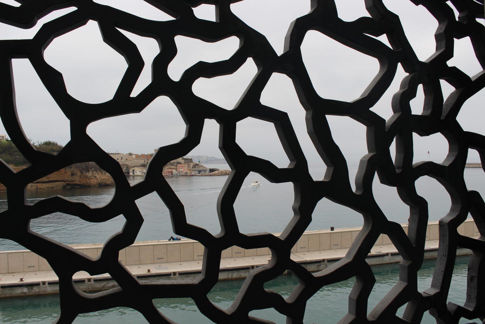Marseille le MuCEM - vue sur Marseille