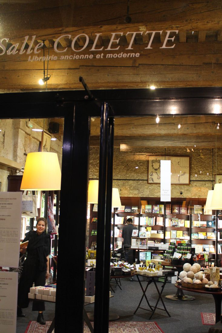Les Arcenaulx librairie salle Colette
