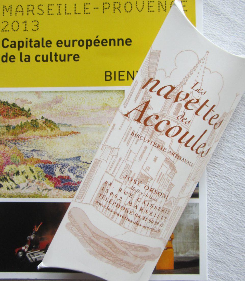 Marseille biscuit les Navettes des Accoules
