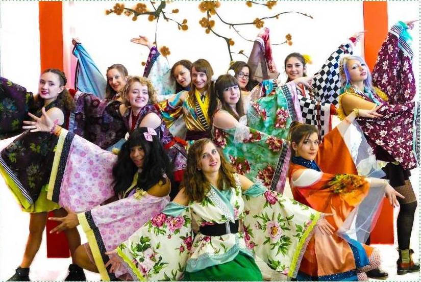 Japan Impact Lausanne EPFL Kimonos