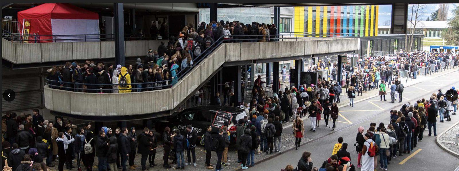 Japan Impact Lausanne EPFL Foule