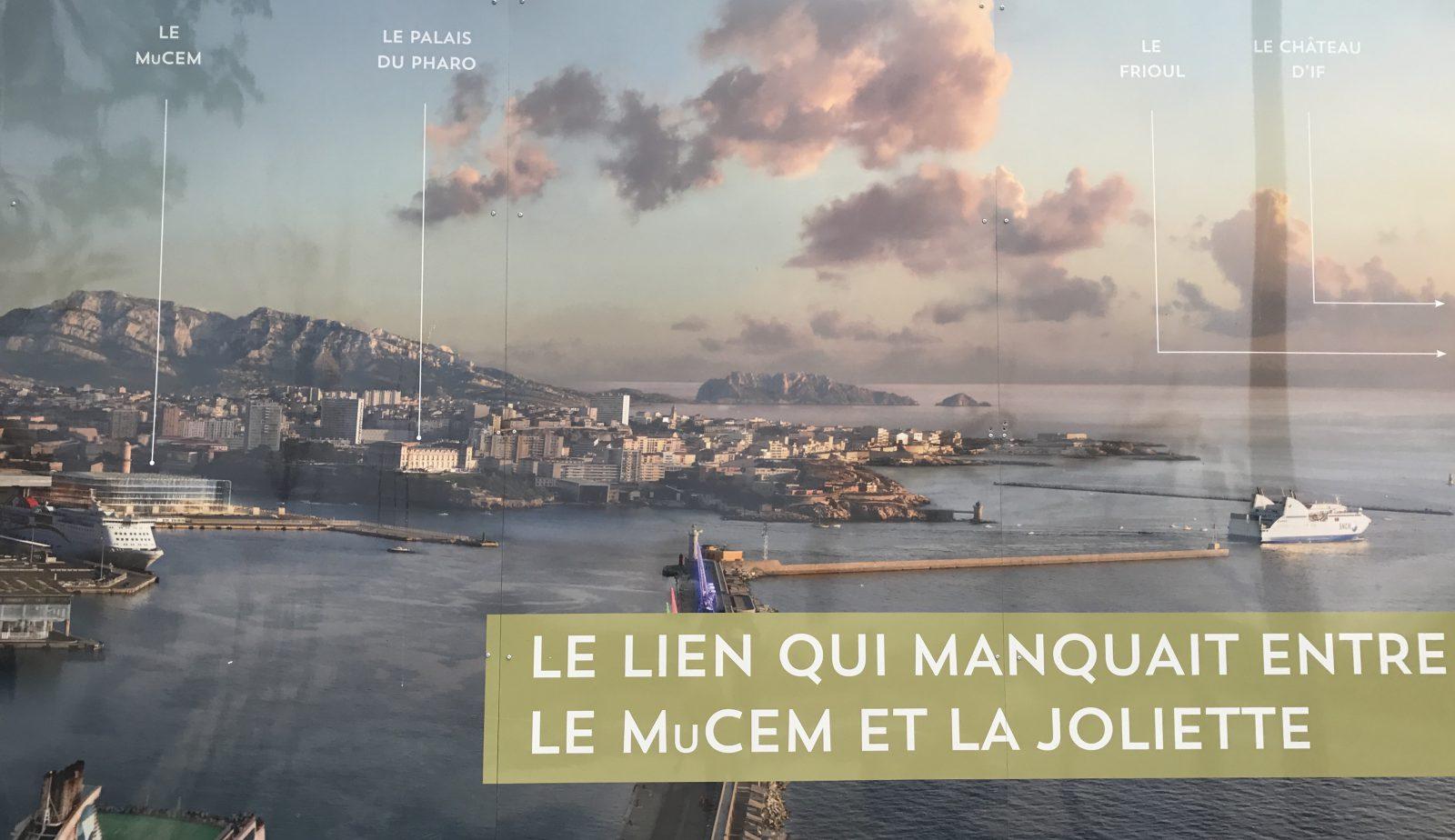 Marseille affiche MuCEM - la Joliette