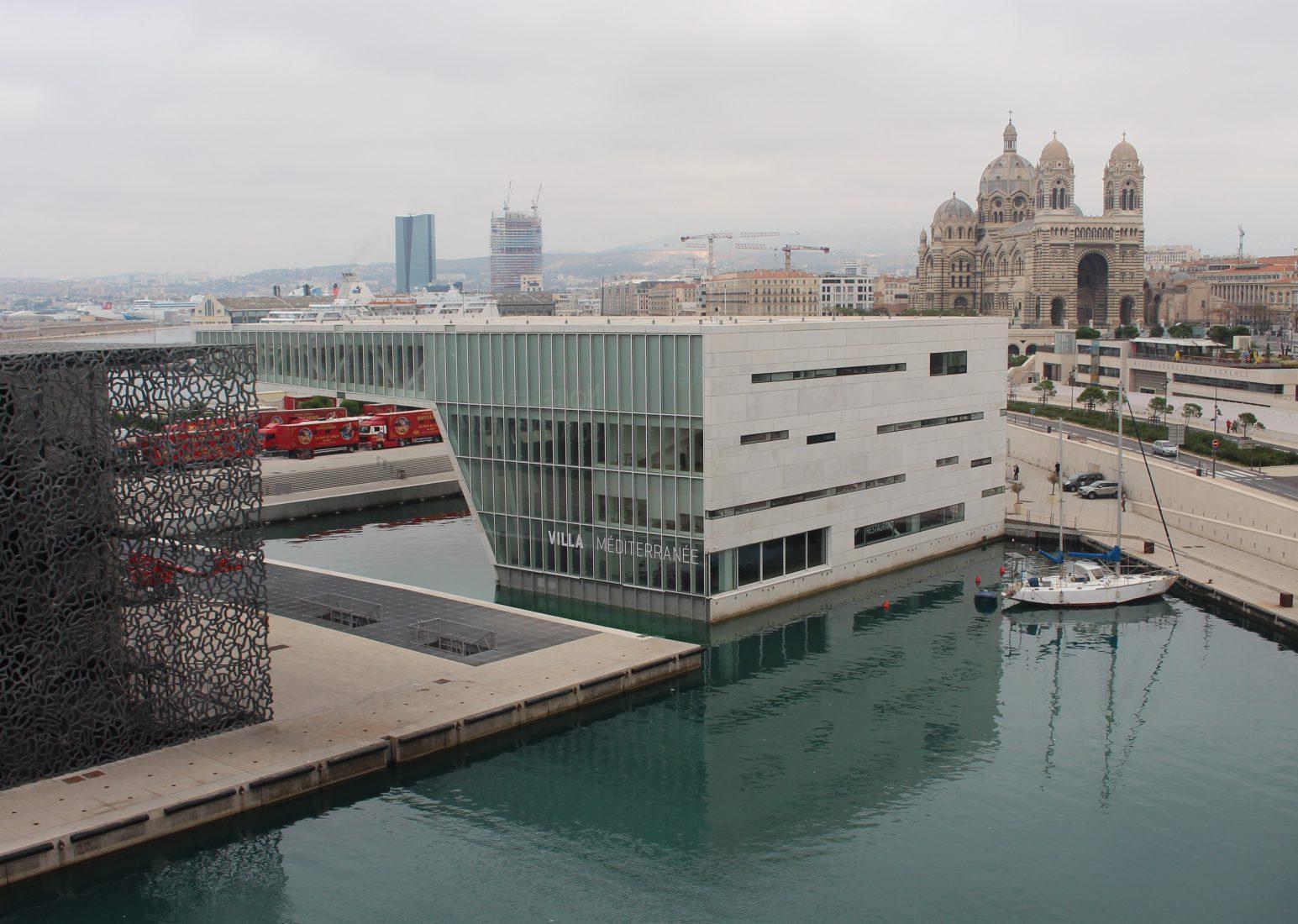 Marseille la Villa Méditerranée