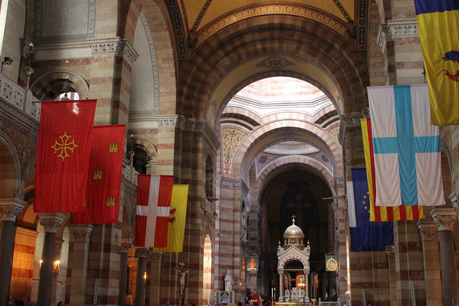 Marseille cathédrale La Major - intérieur