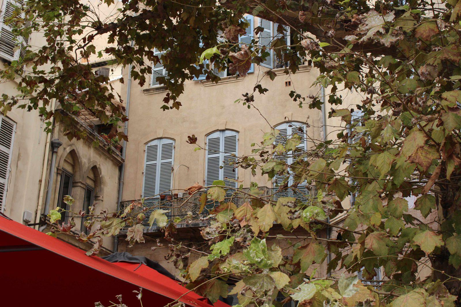 Marseille - maisons anciennes au Panier