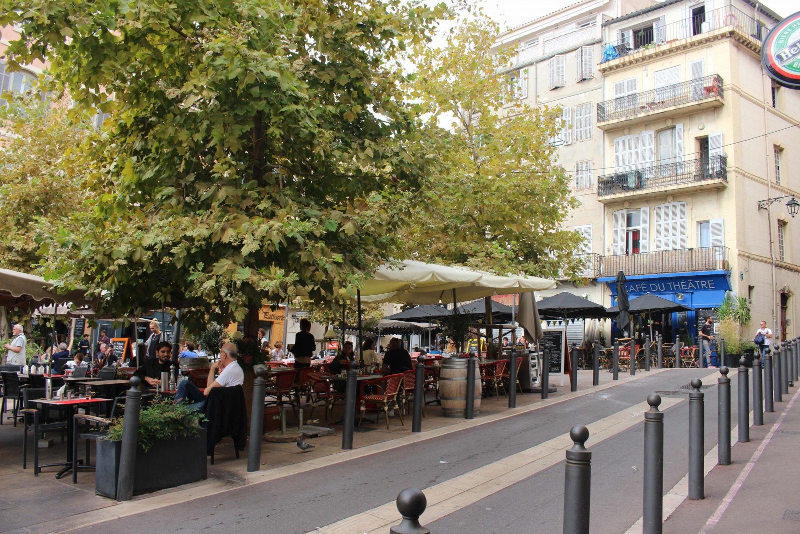 Marseille - ambiance au Panier