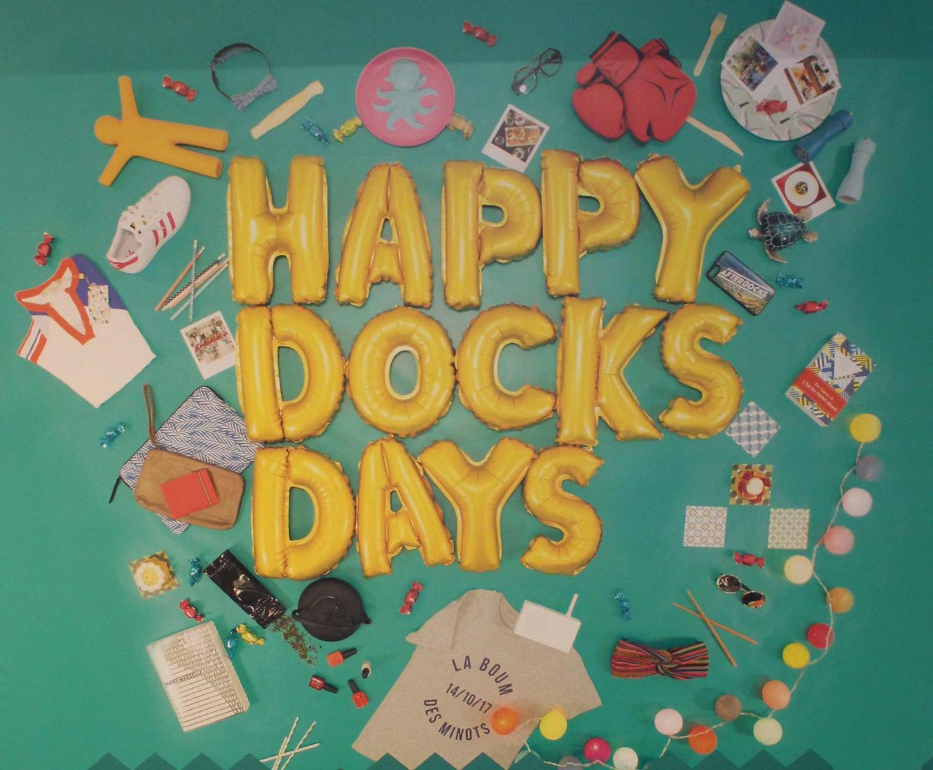 Marseille les Docks Affiche Happy Docks Days