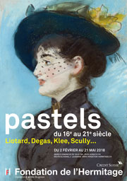 Affiche Hermitage Lausanne Edouard ManetLa Viennoise Irma Brunner,