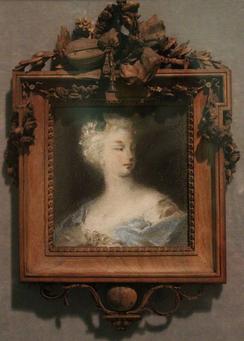Hermitage Lausanne Pastel Rosalba Carriera - Dame, avant 1740
