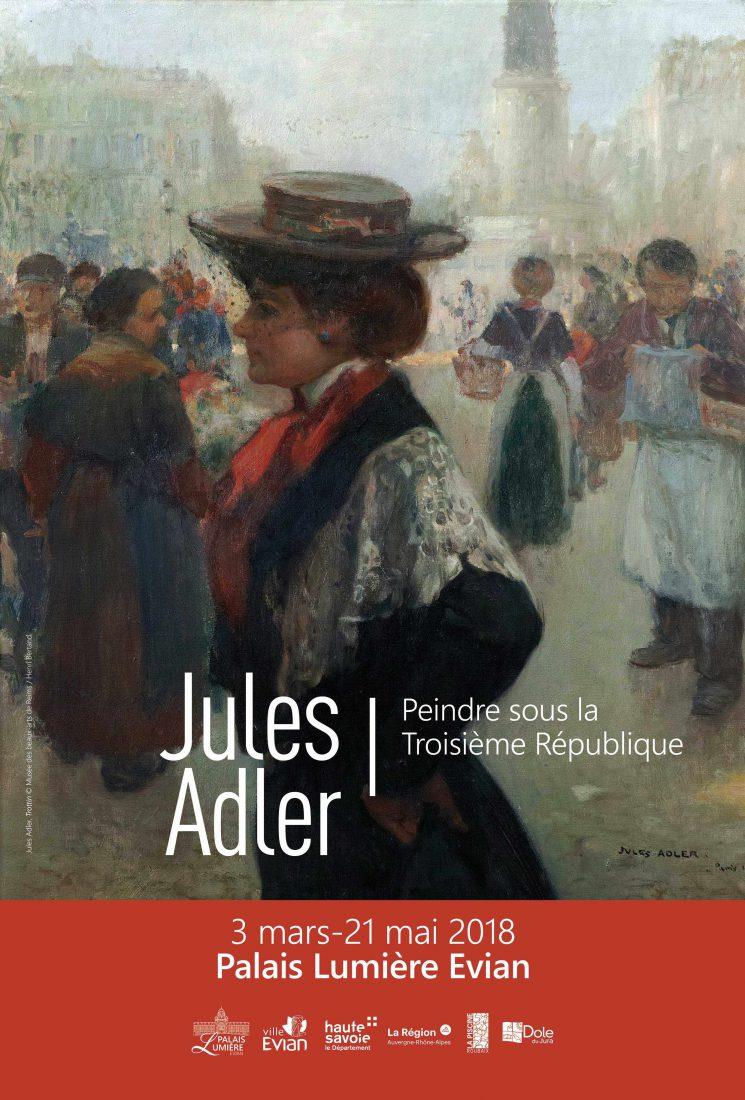 Affiche Adler Kaenel_Musee Reims_Trottin_cl. Devleeschauwer © ADAGP