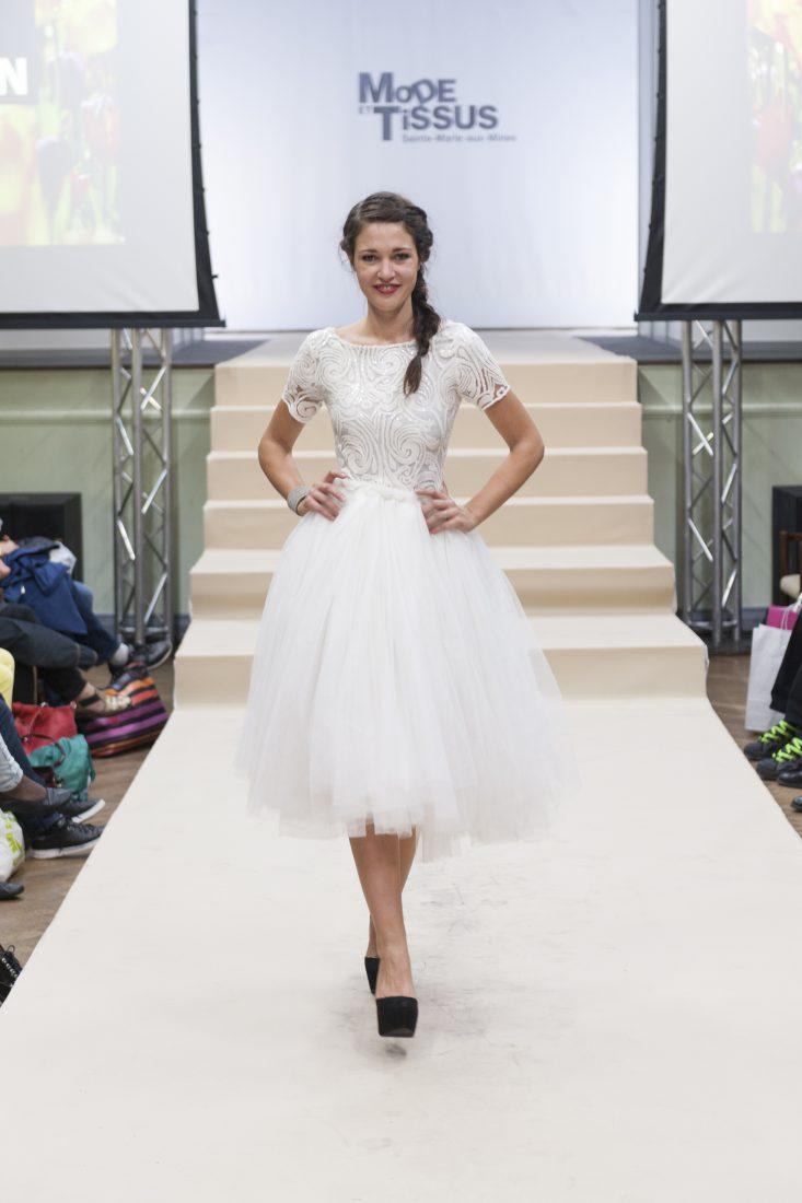 Ste Marie-aux-Mines salon Mode et tissus 2018 défilé mode