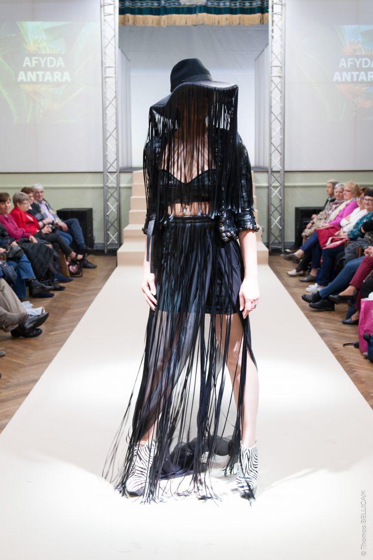 Ste Marie-aux-Mines salon Mode et tissus 2018 défilé robe chapeau
