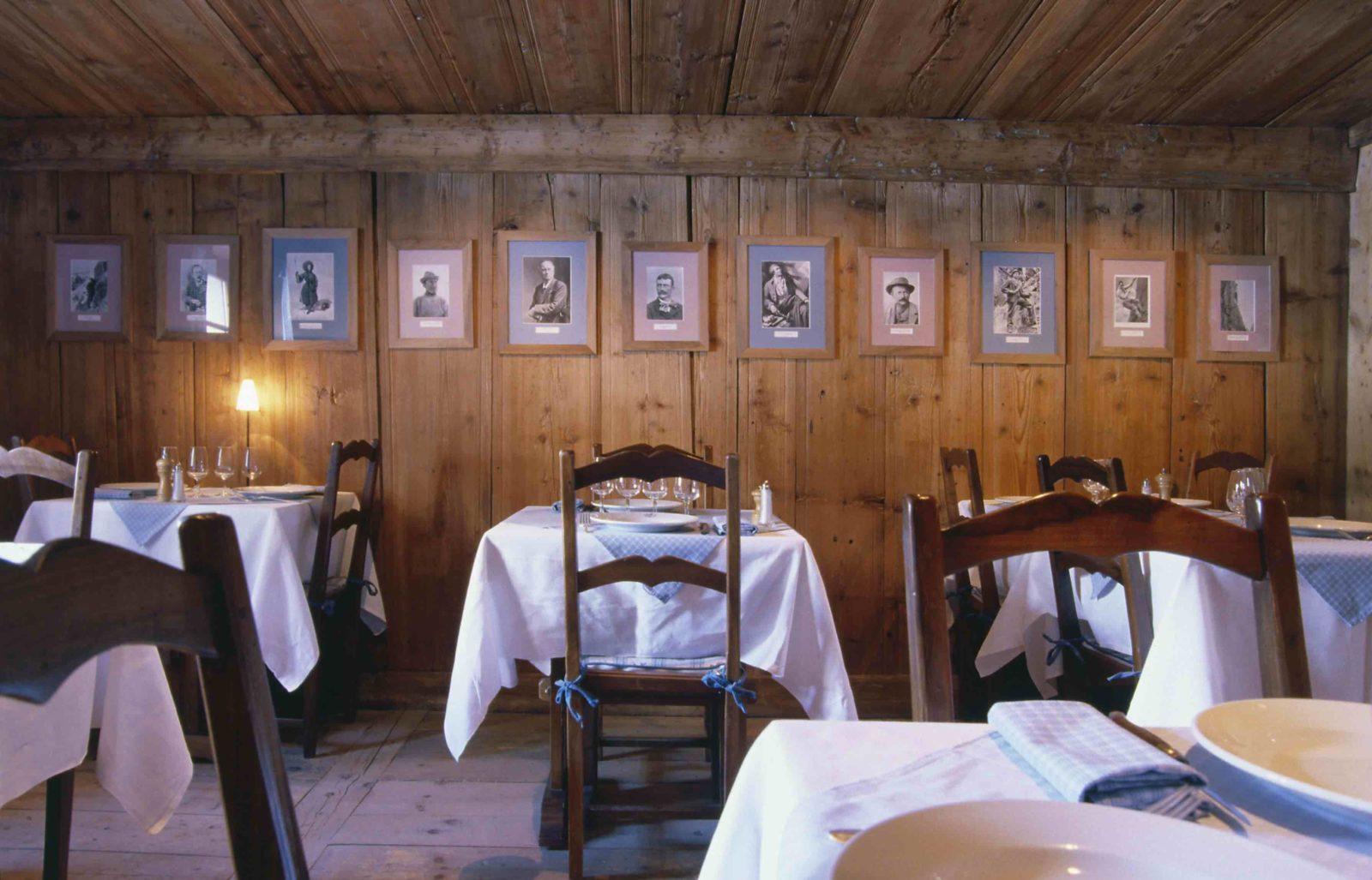 Chamonix Hôtel 5* Hameau Albert 1er restaurant maison carrier