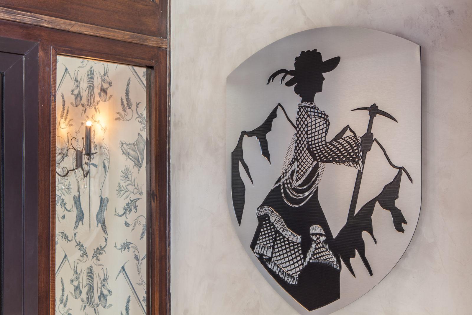 Chamonix hotel Pointe Isabelle intérieur