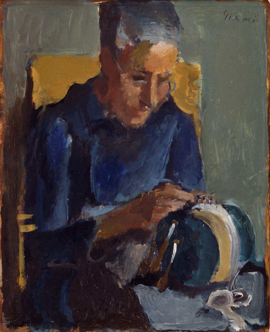 La dentellière , [1923,Musée Jenisch Vevey, Wilhelm Gimmi
