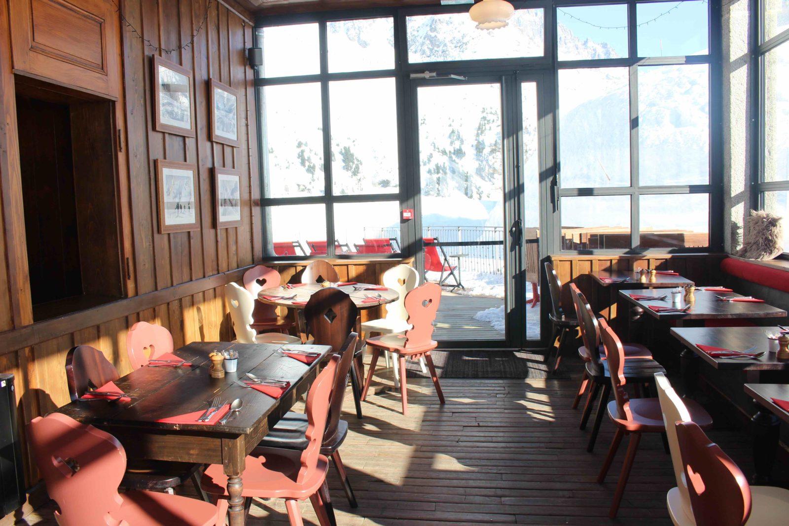 Terminal Neige-Refuge du Montenvers salle du déjeuner