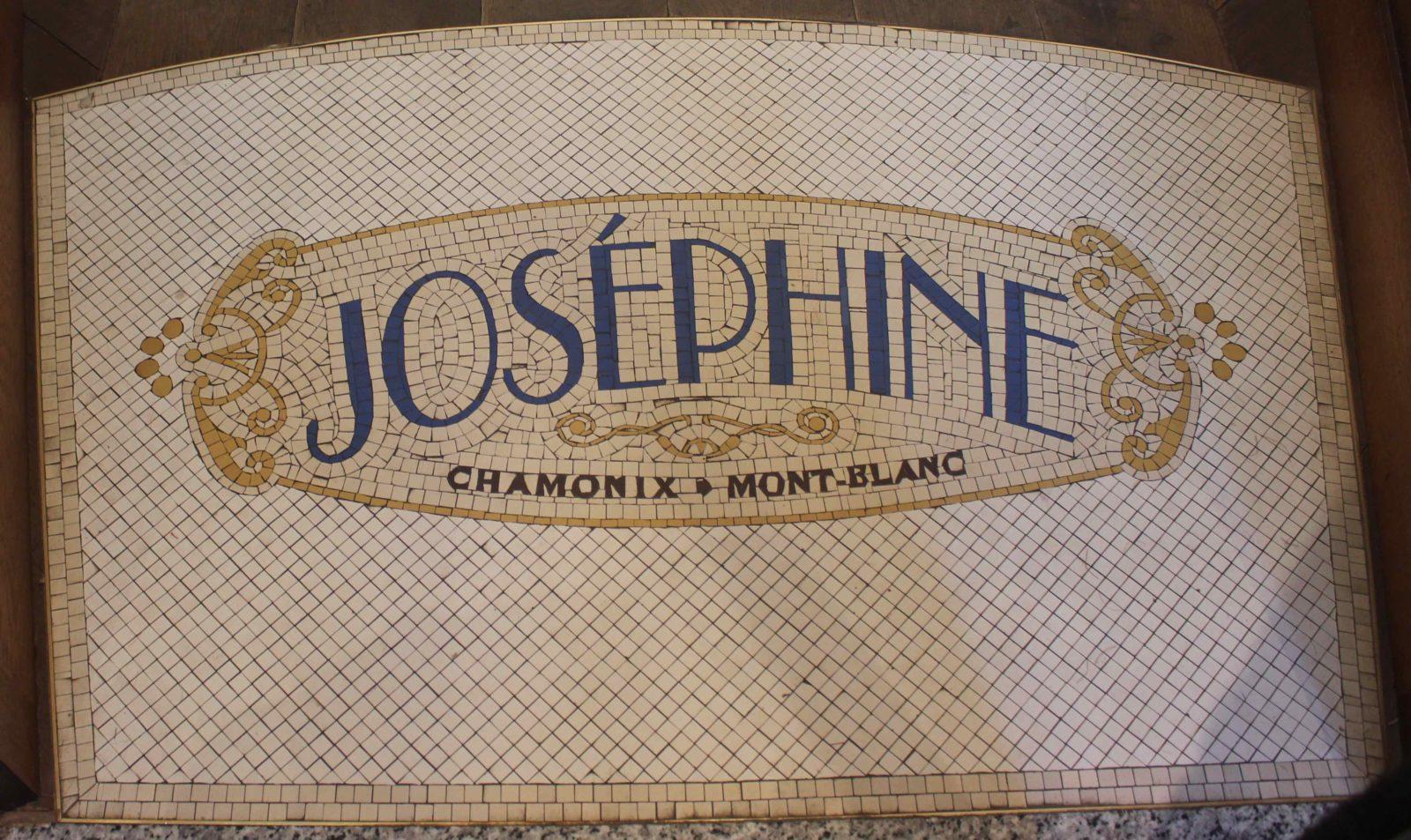 Chamonix restaurant Joséphine