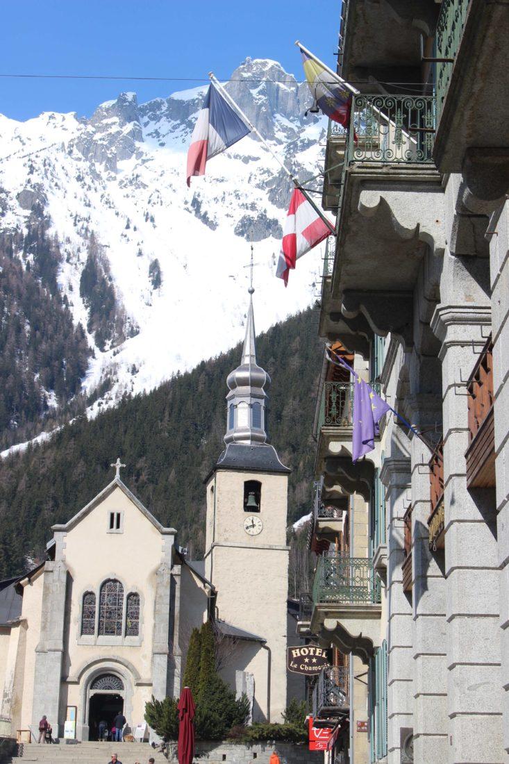 église catholique St Michel de Chamonix