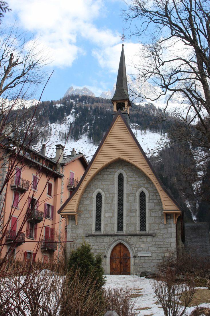 église anglaise de Chamonix