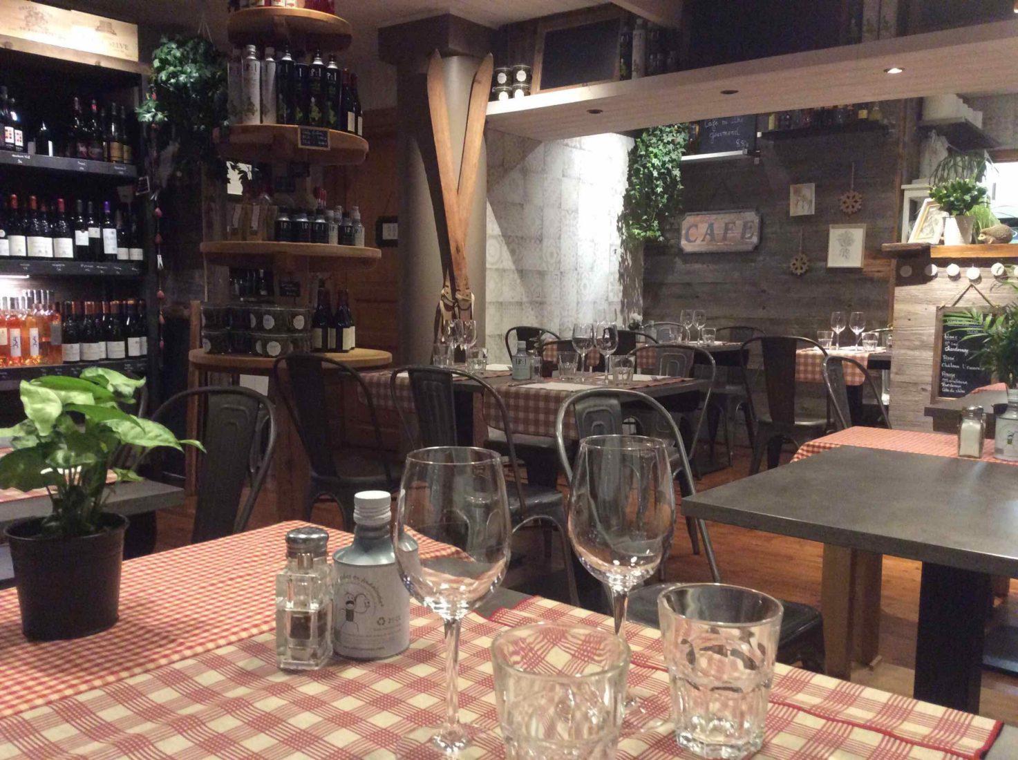 Chamonix restaurant La Fine bouche