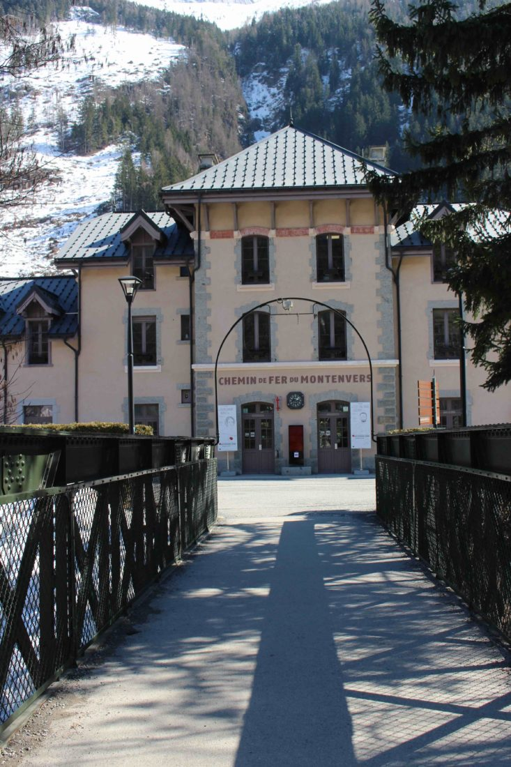 la gare de Chamonix via le Montenvers