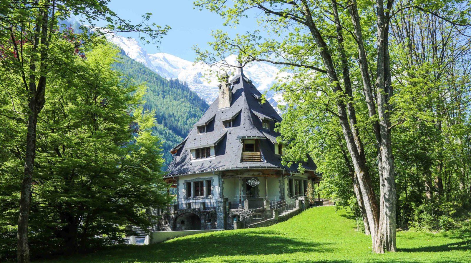 Chamonix villa de La Tournette maison des artistes