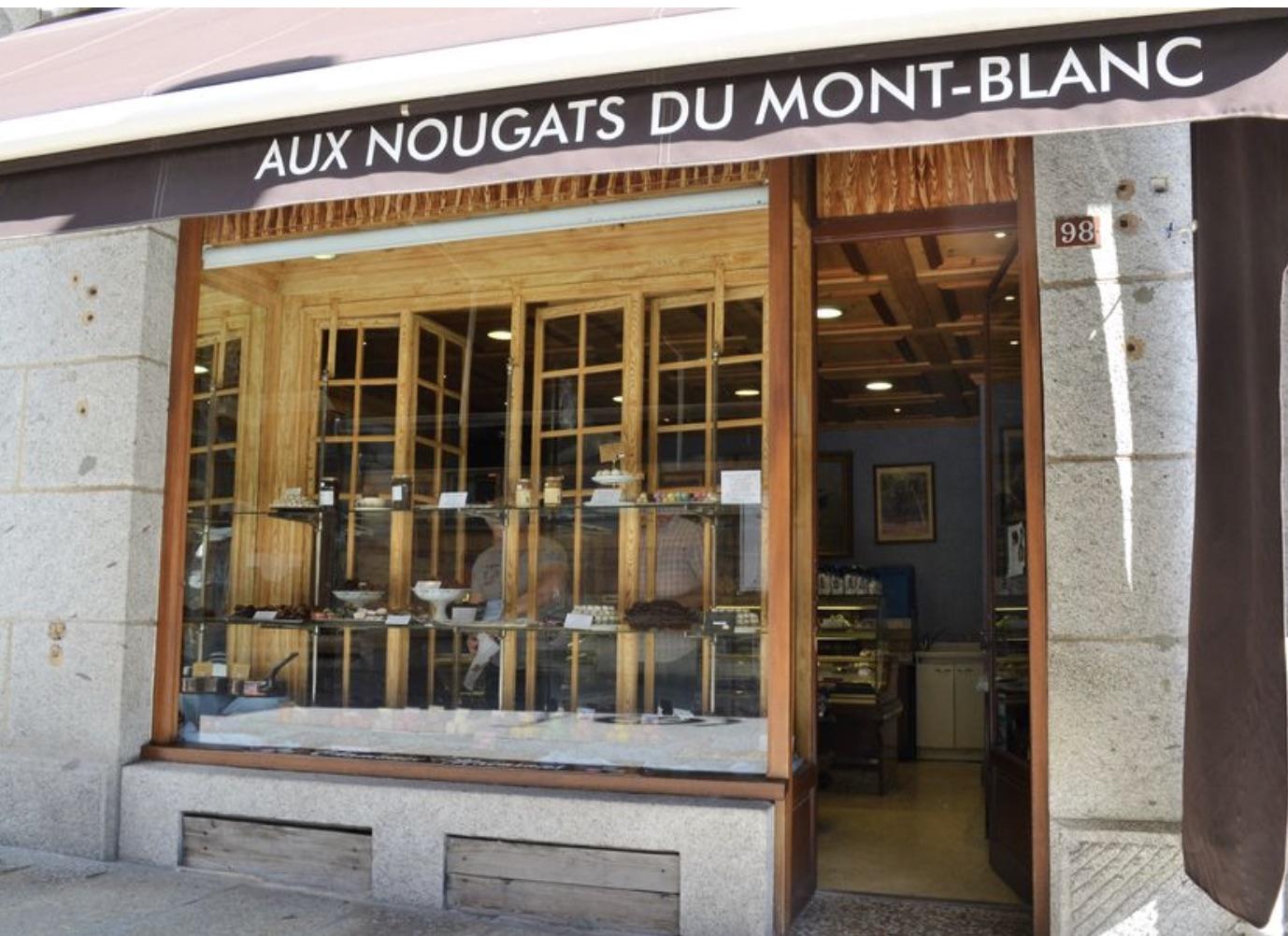 Chamonix boutique Aux nougats du mont blanc