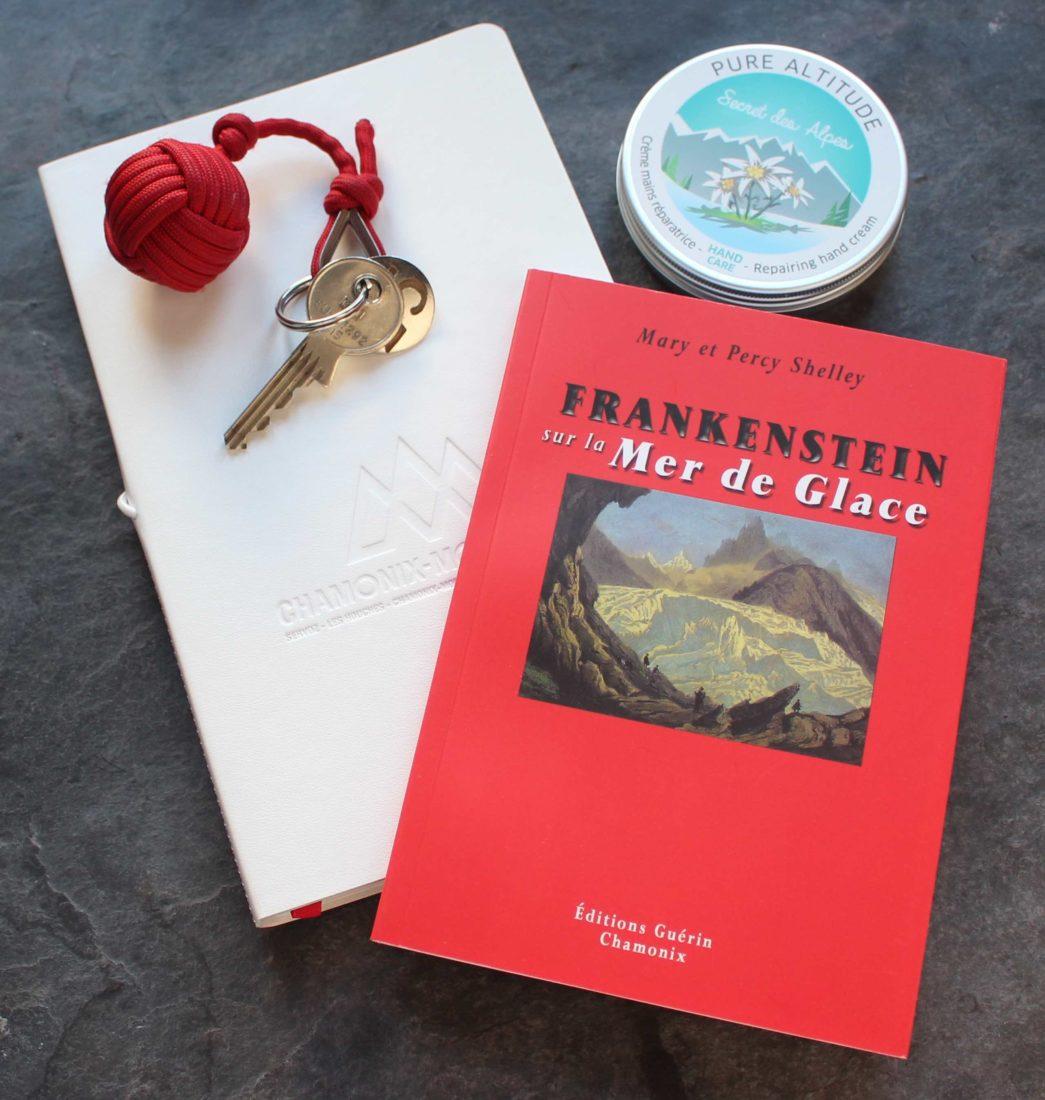 Petit livre rouge Guérin Frankenstein et la Mer de glace