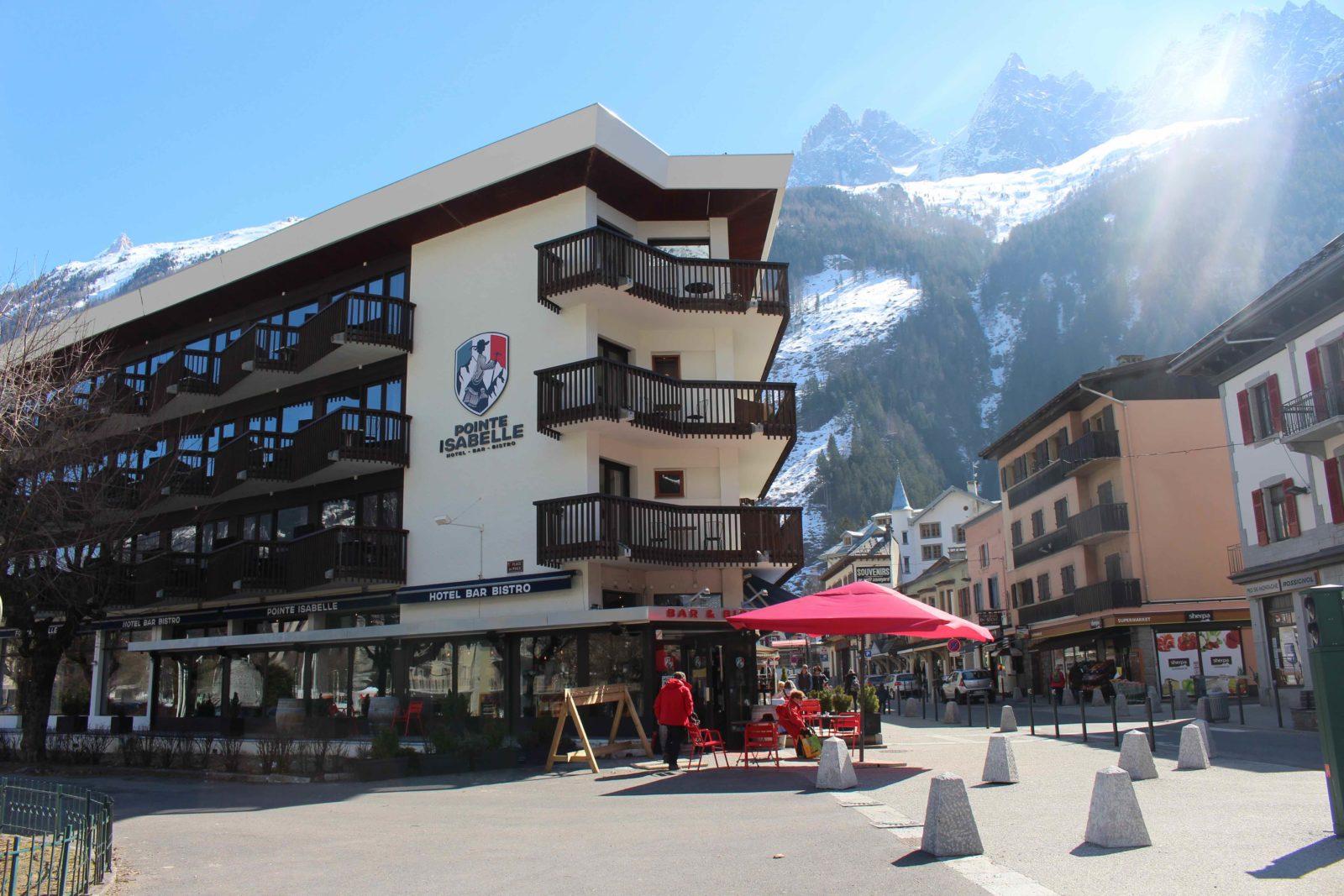 Chamonix hotel Pointe Isabelle