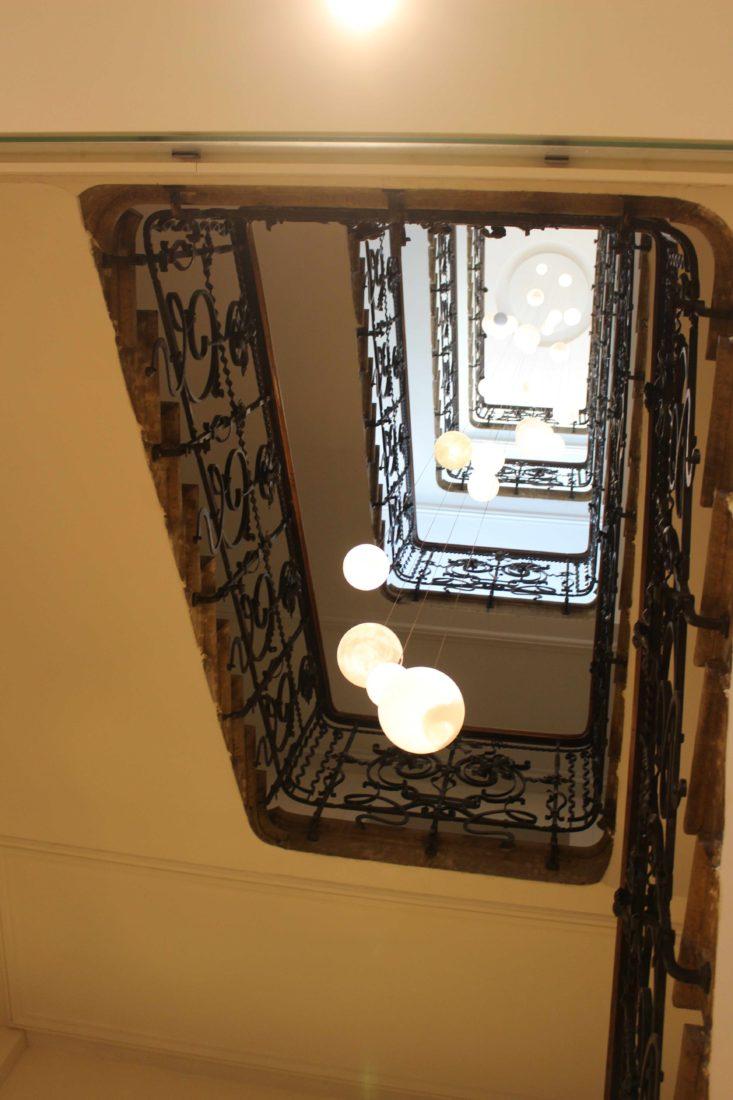 Chamonix L'Hôtel Mont-Blanc escalier