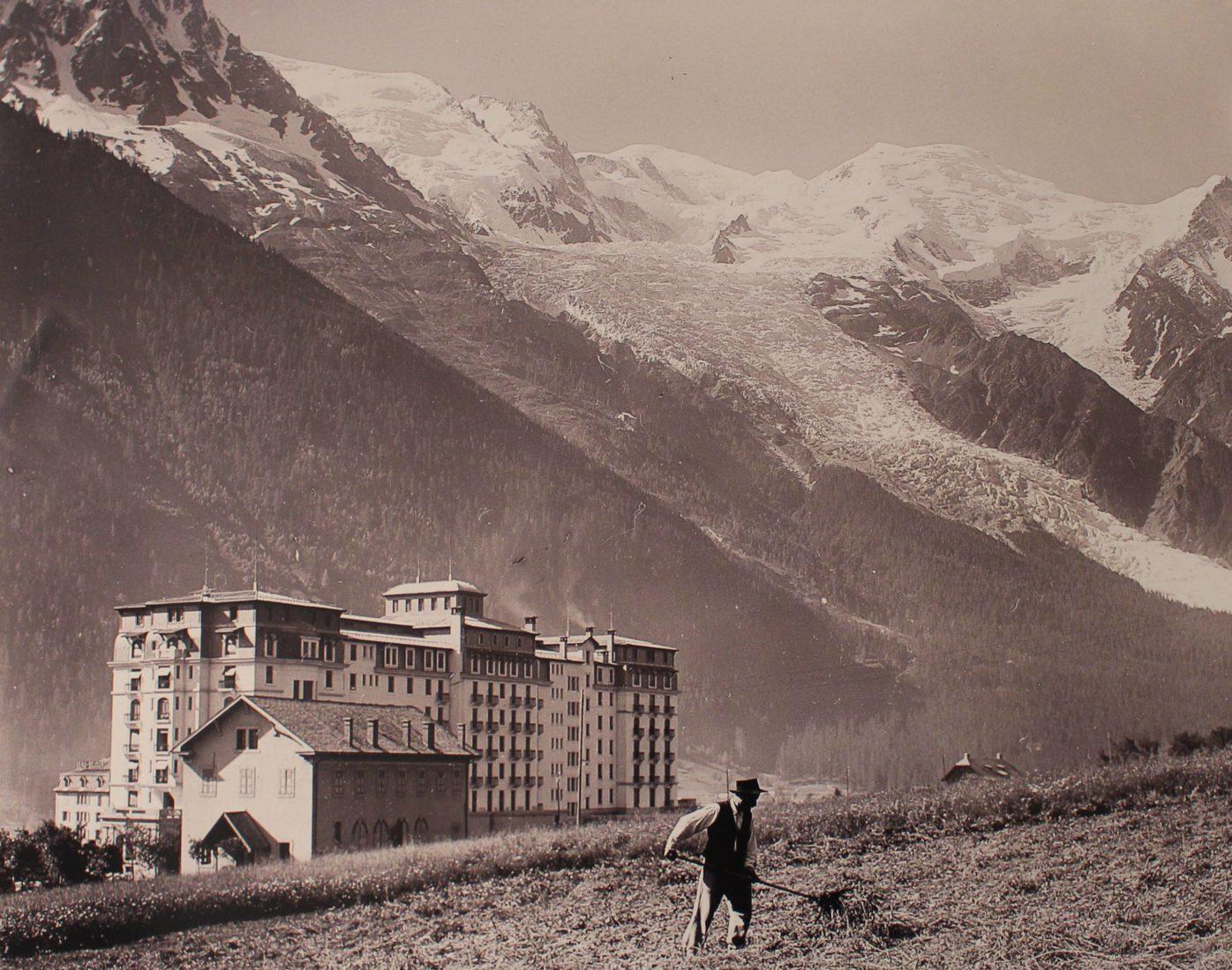 Chamonix vue ancienne Majestic