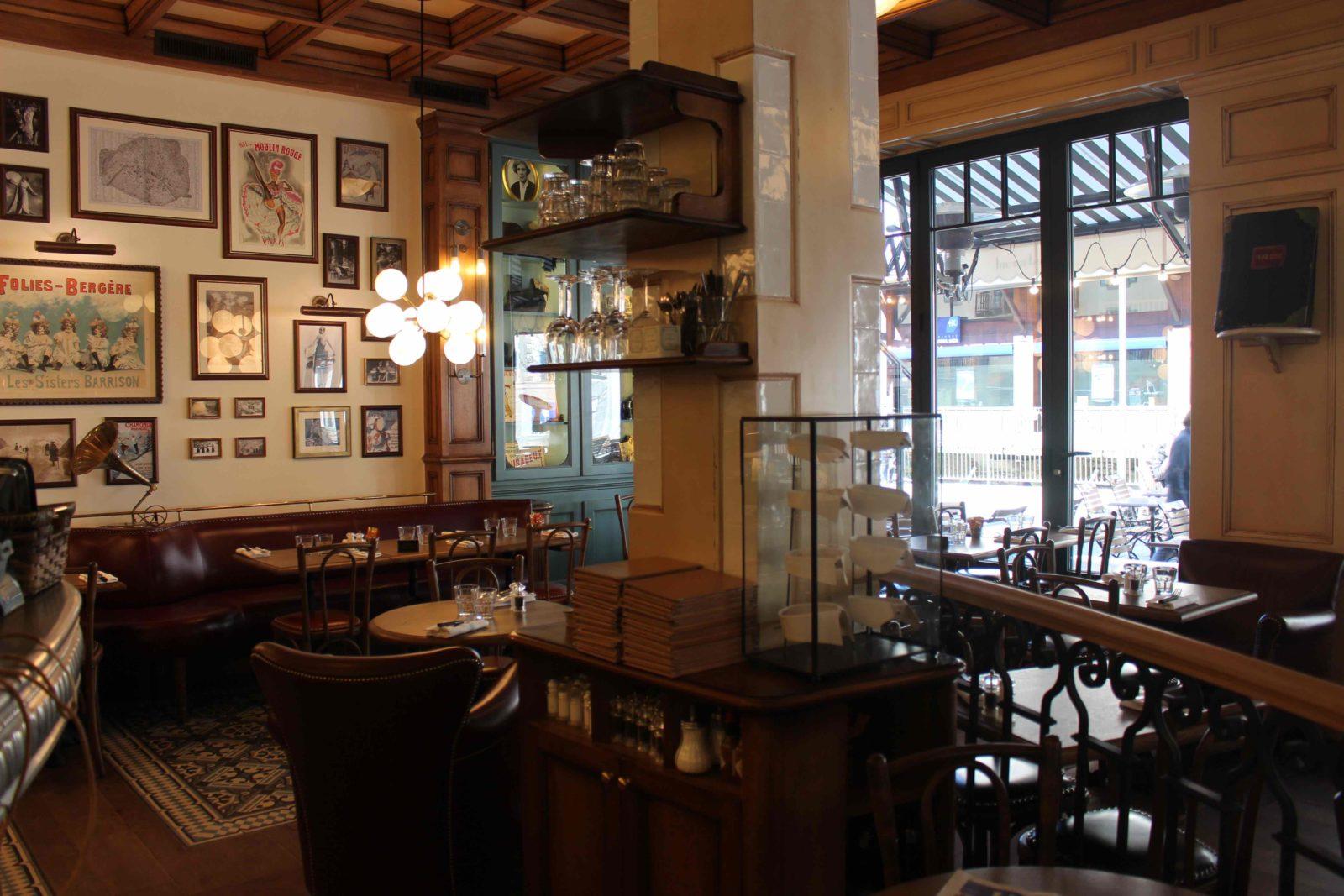 Chamonix restaurant Joséphine intérieur