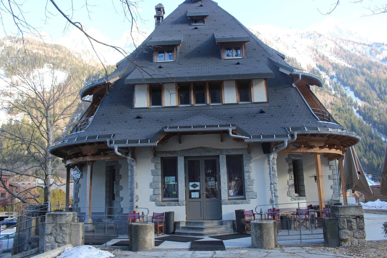 Chamonix maison des artistes extérieur