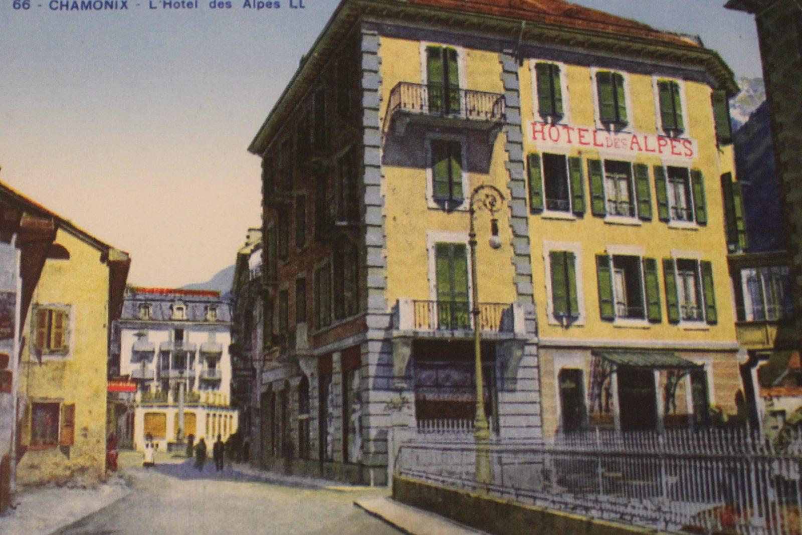 Chamonix hotel des Alpes