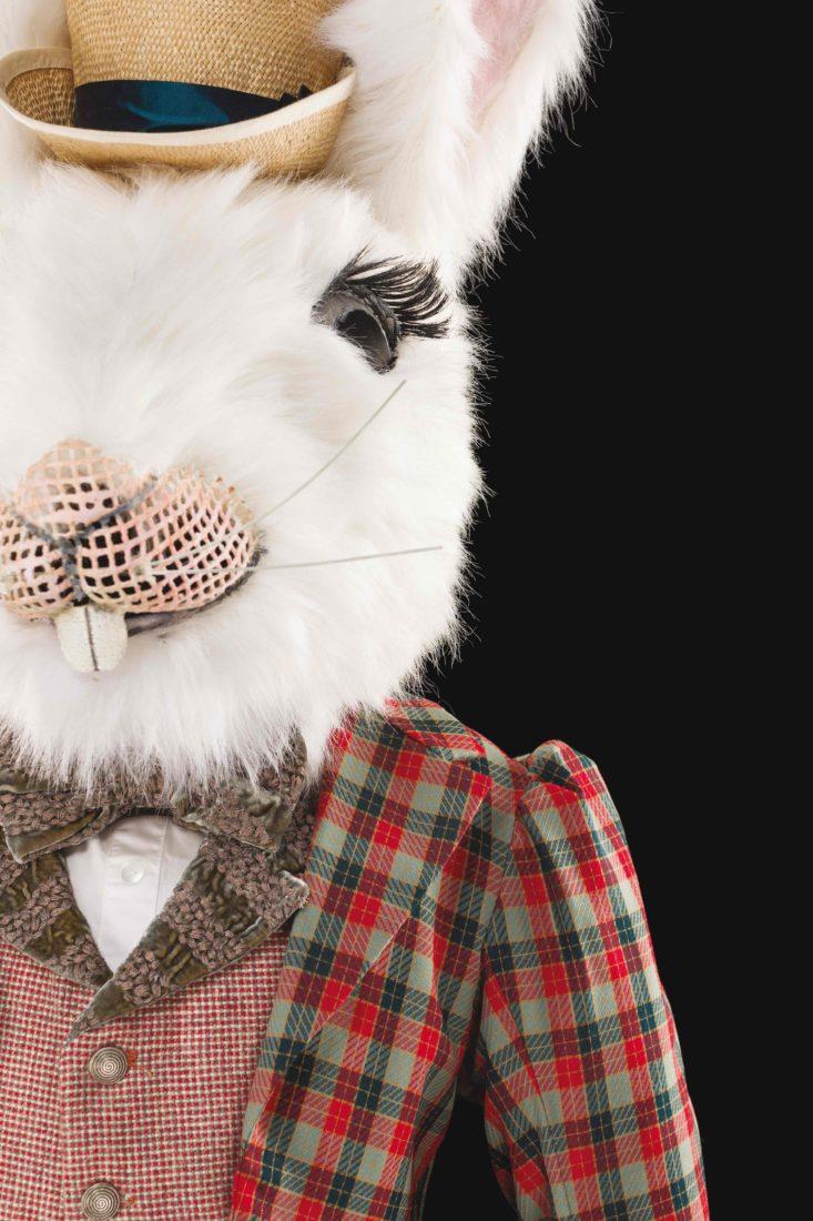 Costume de Charles Cusick-Smith et Phil R Alice au pays des merveilles