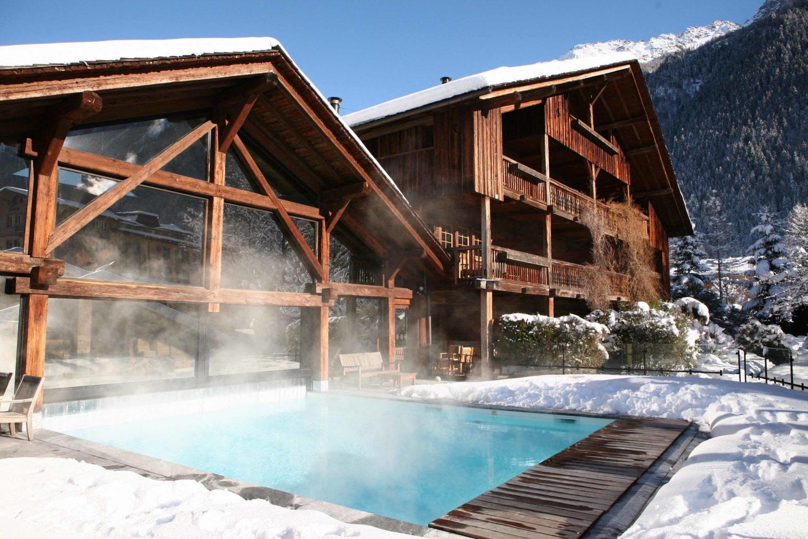Chamonix Hameau Albert 1er piscine