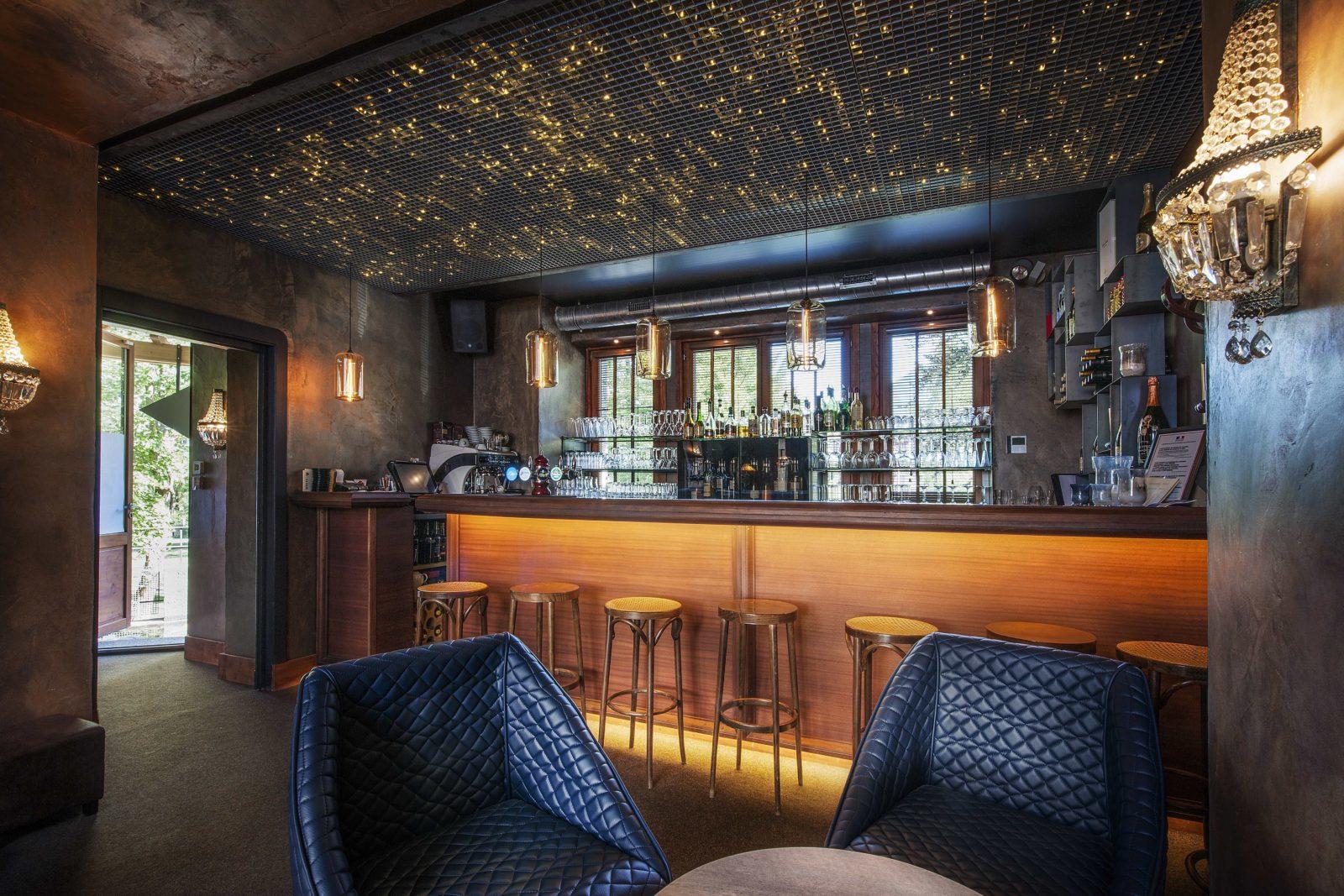Chamonix maison des artistes intérieur le bar