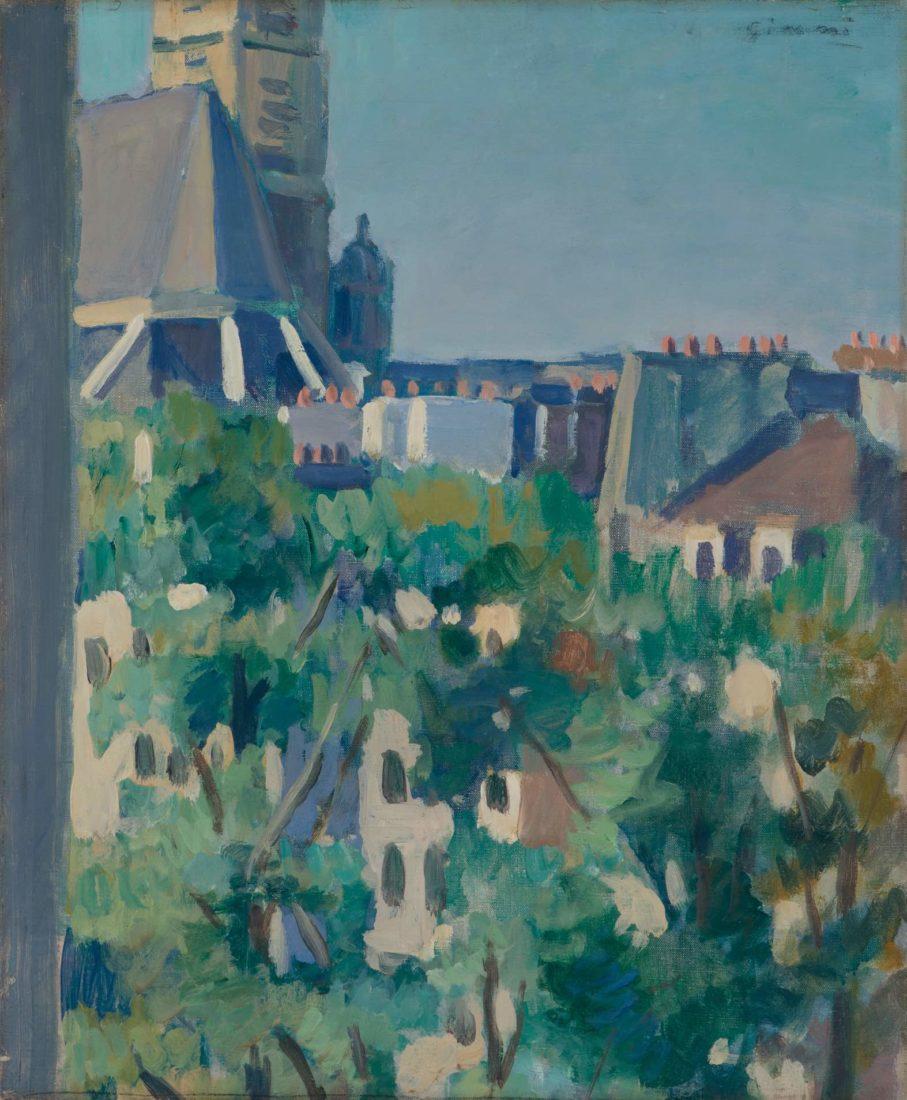 Saint-Gervais, Paris, 1925,Wilhelm Gimmi , Musée Jenisch Vevey