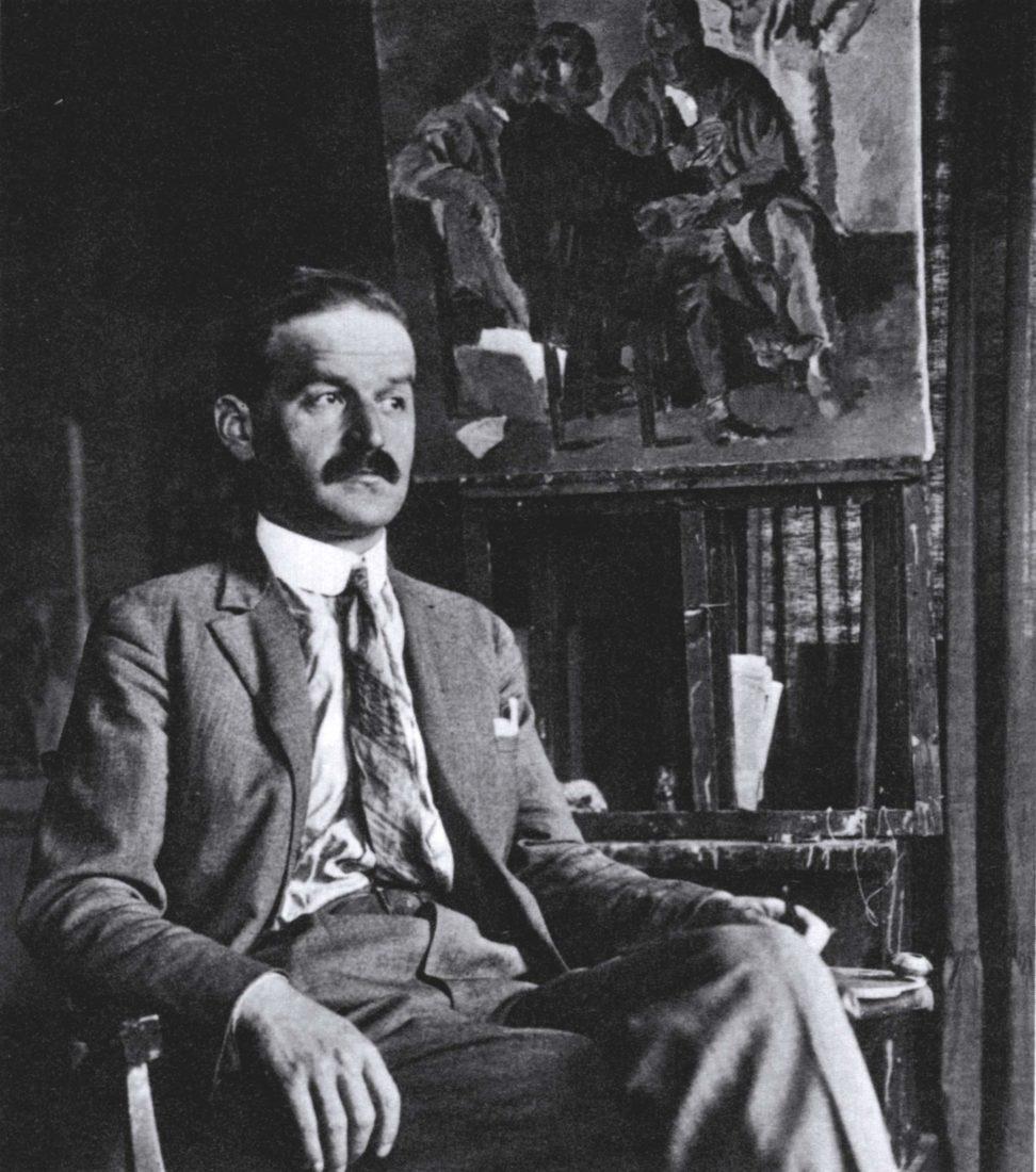 Portrait photo Wilhelm Gimmi